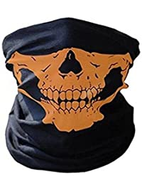 Waymeduo New Skeleton Skull Bandana Snowboard Skiing Motorcycle Biking Rave Mask Paintball