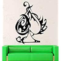 ziweipp 56cm x 88cm Poker Wall Stickers Cards Gambling Ace Casino Vinyl Decal