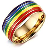 Ring for Women, Multi Color, Size 8, RS026