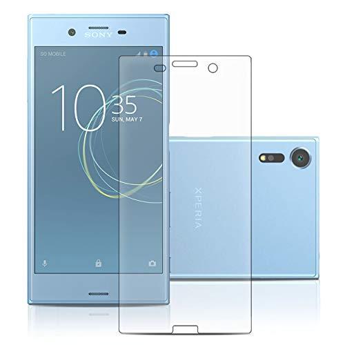 LetiStore Panzerglas für Sony Xperia XZs Bildschirmschutz Folie Glasfolie Hartglas 9H Transparent