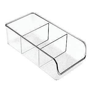 interdesign linus aufbewahrungsbeh lter mittelgro er. Black Bedroom Furniture Sets. Home Design Ideas