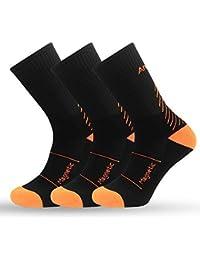 IMITOR Calcetines de Senderismo para Hombre y Mujere Algodón Transpirable Calcetines de Trekking Calcetines Térmicos para
