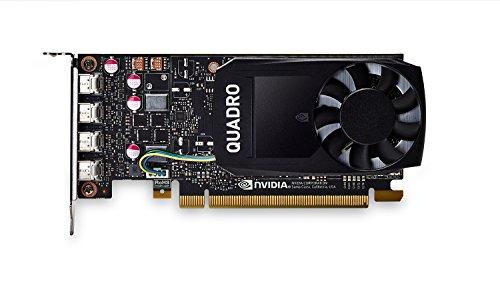PNY VCQP1000-PB Nvidia Quadro P1000 Grafikkarte (4GB GDDR5)