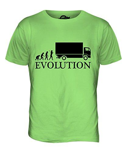 CandyMix Lastkraftwagen Lkw Treiber Evolution Des Menschen Herren T Shirt Limettengrün