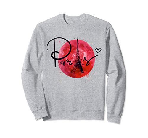 France Paris T-Shirt Eiffel Tower Souvenir Gift Sweatshirt -