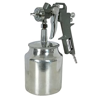 Silverline 196536 Spray Gun Suction Feed 750 ml