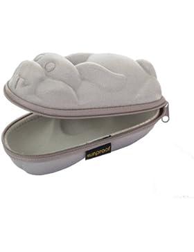 Baby Banz Sunglass Case - Silver Rabbit