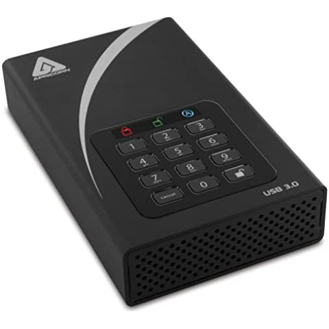 Apricorn DT Fips Aegis Lucchetto Desktop USB 3.0 da 4 TB, colore: (Dispositivo Usb Mass Storage Device)