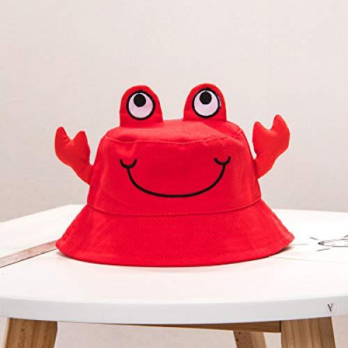mlpnko Süße Flache Oberseite Kind Fischer Hut Wilde große Sonnenschirm Baby Stirnband Mütze rot - Braun Bowler Hut Kostüm