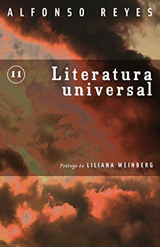 Literatura universal por Alfonso Reyes