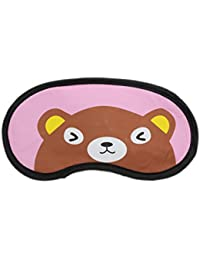 Sleeping Eye Mask With Elastic & Cooling Eye Gel - Bear (LNTg269)