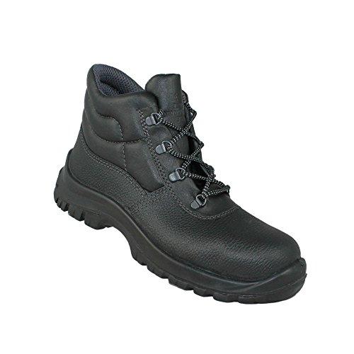 Aimont berlino s1 sRC chaussures berufsschuhe businessschuhe chaussures de trekking (noir) Schwarz