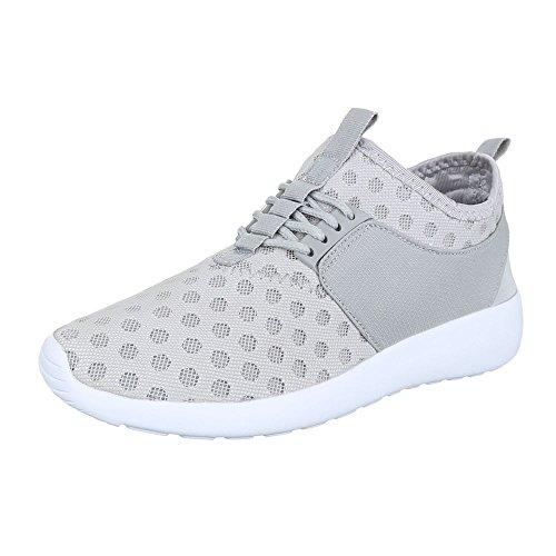 Ital-Design, Sneaker donna Grau
