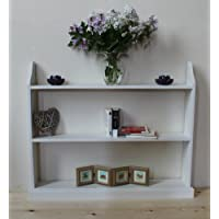 """Goodwood Originals Large free standing bookcase white 42"""""""