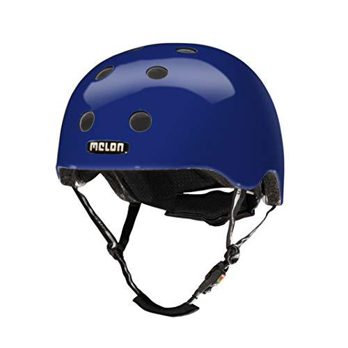 MELON Leichter Unisex Helm für Erwachsene und Kinder, Größe XXS-S, Dunkelblau, Urban Active