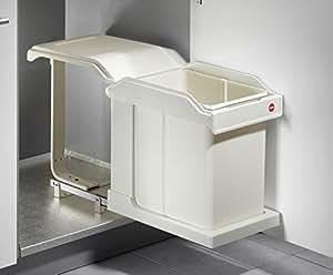 hailo solo 3632 01 einbau abfallsammler abfalleimer m lltrennsystem m ll eimer k che. Black Bedroom Furniture Sets. Home Design Ideas