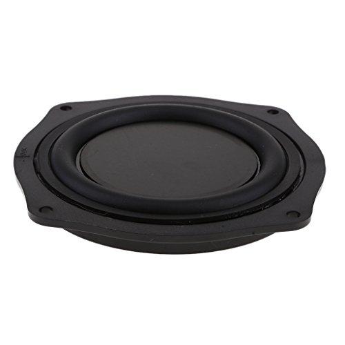Bass Lautsprecher Speaker Passiver Heizkörper Passiv Gummi Vibrationsplatte, 11.4x11.4x1.3cm