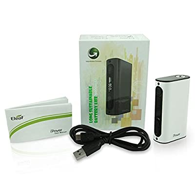 Eleaf iPower 5000 mAh White Electronic Cigarette Battery Kit from Eleaf
