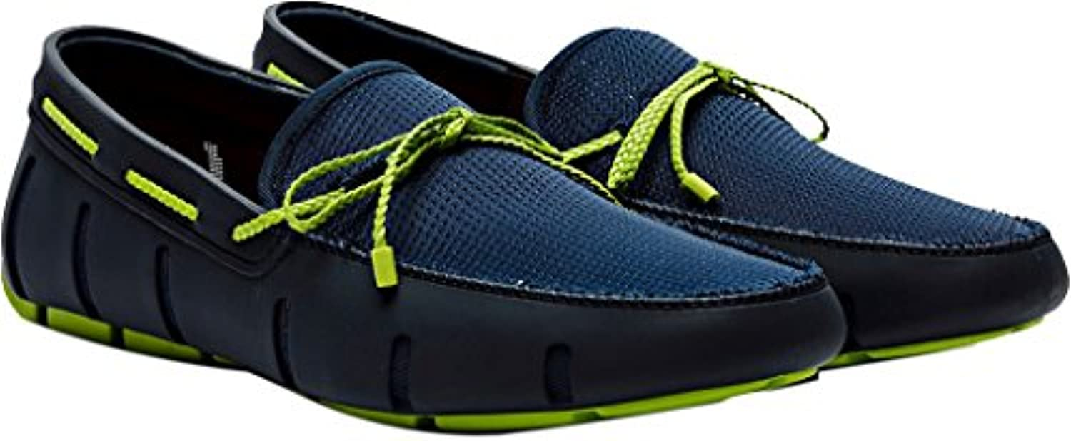 Swims  21202_Synthetic  Herren Slipper  Blau   Marineblau/Grün   Größe: 44 EU (M)
