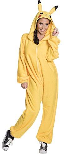 (Generique - Pikachu Pokémon Kostüm für Damen L)