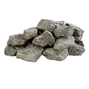 eliga Aufgusssteine circa aus Olivin-Diabas, 1er Pack (1 x 10 kg)