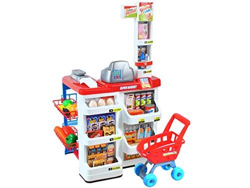 MALATEC Supermercado Tienda Juguetes Mostrador Carrito