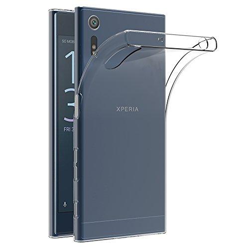 AICEK Sony Xperia XZ/Sony Xperia XZs Hülle, Transparent Silikon Schutzhülle für Sony Xperia XZ/Xperia XZs Case Crystal Clear Durchsichtige TPU Bumper Sony Xperia XZ/Xperia XZs Handyhülle