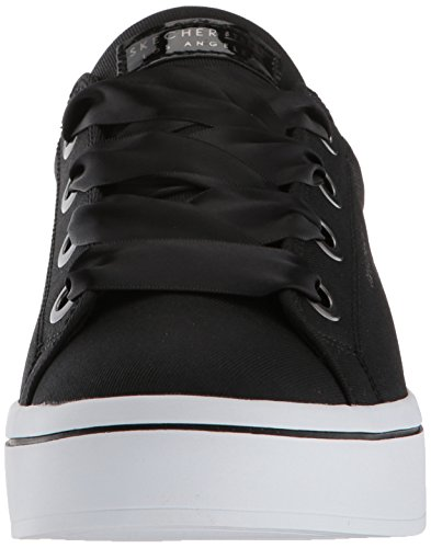Skechers Damen Hi Lite-Satin Stoppers Sneaker Schwarz (Black)