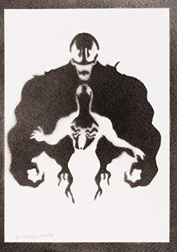 Venom Handmade Street Art - Artwork - Poster
