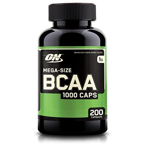 Optimum Nutrition BCAA 1000 Branched Chain Amino Acids with L-Leucine, L-Isoleucine and L-Valine, Unflavoured...
