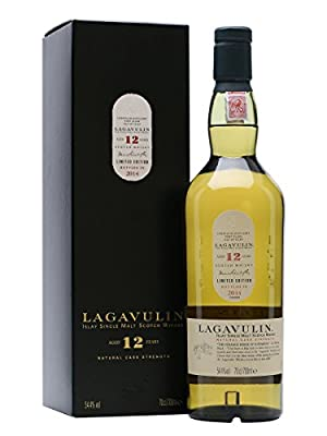 Lagavulin 12 Year Old Single Malt Scotch Whisky (4 x 70cl Bottles)