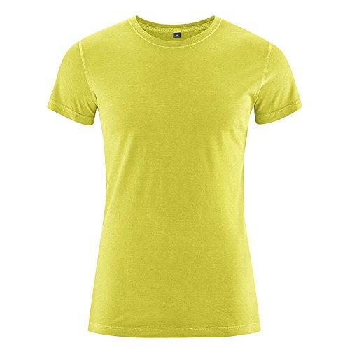 HempAge Herren Hanf Baumwolle T-Shirt Brisko Apple