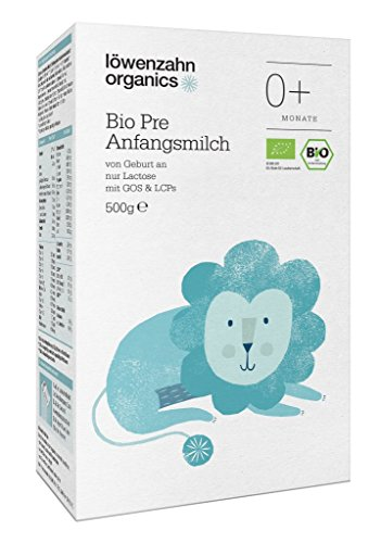 Löwenzahn Organics Pre Anfangsmilch 0+ Monate
