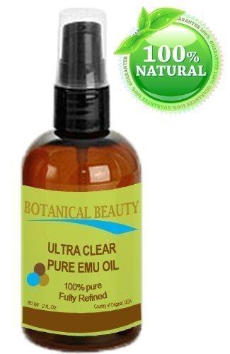 Emu-Öl Shampoo (Ultraklar Reines Emu-Öl 100% reine / natur / golden / vollständig raffiniertes - 60ml. Für Gesicht, Körper, Haar und Lippen. Groß für Dermatitis, Schuppenflechte, Ekzeme, brüchige Nägel, trockenes Haar und Kopfhaut, Verbrennungen, Schmerzen, Dehnungsstreifen, Rosacea, Schnitte, Narben, Anti-Aging und vieles mehr!)