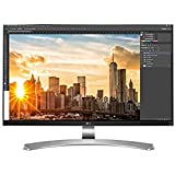 "LG 27UD88-W Écran PC LED IPS - 27"" - 3840 x 2160 UHD 4K - 350 cd/m2 - 5 ms - Argent (2xHDMI, DisplayPort, USB 3.0, USB-C)"