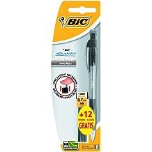 BiC Atlantis - Portaminas (0,7mm, 12 unidades)