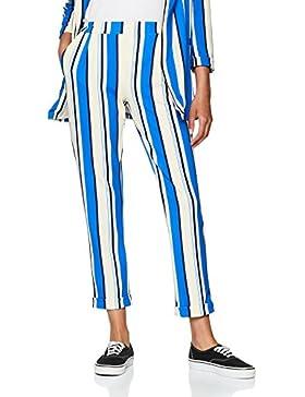 New Look 5847796-49, Pantaloni Donna (Blue Pattern), 40