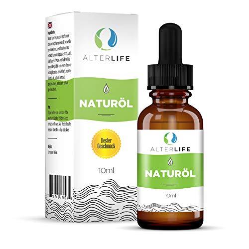 Alterlife Öl, Tropfen, Geschenk der Natur, wohltuende Wirkung auf Geist und Körper, vitalisierend, schmerzlindernd, ein Naturprodukt mit analytischem Zertifikat, Inhaltsstoffe aus Deutschland