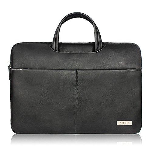 Zikee 15-15,4 Zoll MacBook Pro / Air Kunstleder tasche Laptop Hülle Notebooktasche...