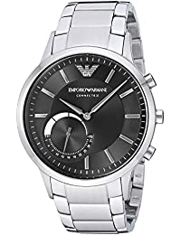 Emporio Armani Men's ART3000 Silver Connected Hybrid Smartwatch