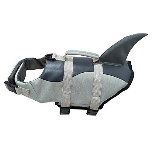 (Aolvo floatation Hunde-Jacken-Saver Schwimmen Rettungsweste Hunde-Weste, verstellbar, Hund leben Schwimmweste für Hunde,)