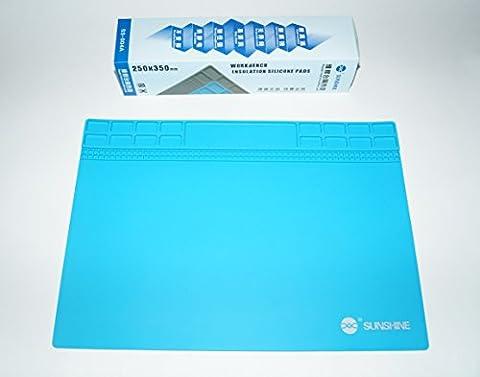 Outils anti-statique d'entretien électronique Silicone Iron Pad Mat SUNSHINE SS-004 A