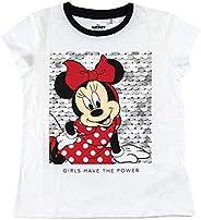 CERDÁ LIFE'S LITTLE MOMENTS Camiseta de Lentejuelas Niña de Minnie Mouse-Licencia Oficial Disney para N