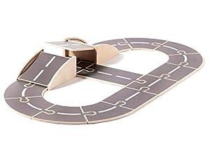 Kids Concept Aiden 74x110 cm Circuitos y playsets para Coches Aviones Vehículos de Juguete Unisex, Multicolor (1000425)