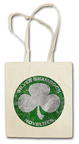 Urban Backwoods Silver Shamrock Novelties Hipster Bag Beutel Stofftasche Einkaufstasche (Halloween Silver Shamrock)