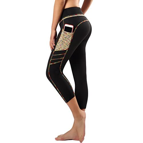 411Gnx2 eML. SS500  - Munvot Womens Yoga Pants Running Leggings with Side Pockets