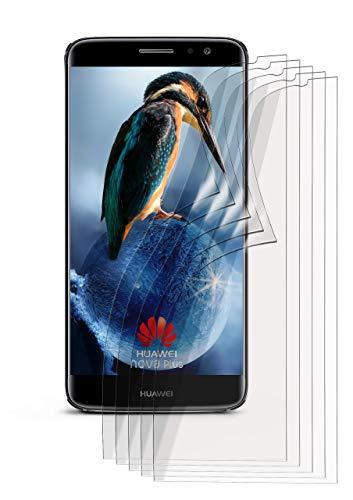 moex 5X Huawei Nova Plus | Schutzfolie Klar Bildschirm Schutz [Crystal-Clear] Screen Protector Display Handy-Folie Dünn Bildschirmschutz-Folie für Huawei Nova Plus Bildschirmfolie