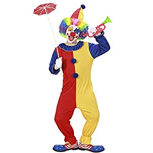 WIDMANN Widman - Disfraz de payaso de circo infantil, talla 11-13 años
