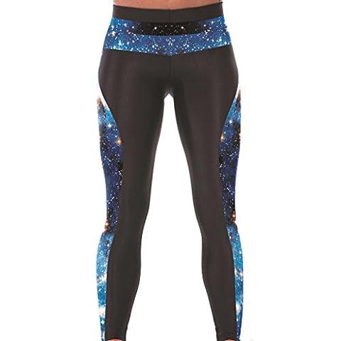 Mode Galaxie Legging Sport Doux Traning Collants Maigre Pantalons Pour Femmes