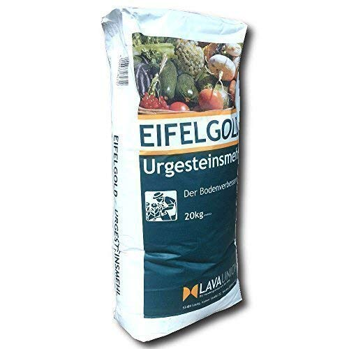 Lava Union Eifelgold Urgesteinsmehl Boden Aktivator Universal Dünger Rasen Kalk